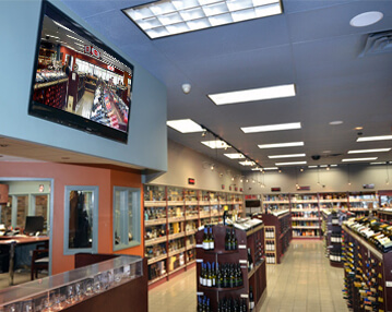 Wine and spirits shop image